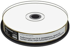 50 Professional Rohlinge CD-R full printable GOLD 24 Karat 700MB 52x Spindel