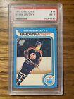 GEM! 1979-1980 OPC O-Pee-Chee Wayne Gretzky ROOKIE CARD RC 18- PSA 7 (NM)