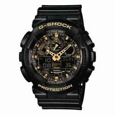 Casio G-Shock Camouflage Dial Black Resin Band Watch