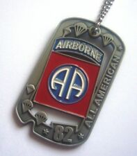 "82nd AB DIVISION ""AJOUREE"" (Commemorative Dog Tag)"