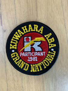 Vintage Kuwahara ABA Grand National Patch