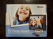 Microsoft TV Photo Viewer New Sealed View Digital Photos