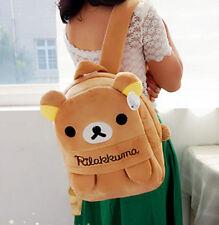 FD4396 Cartoon San-X Rilakkuma Relax Bear Cartoon Backpack Bag School Bag Gift