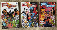 Teen Titans by Geoff Johns Vol 1, 2, and 3 TPB. NM. Mike McKone
