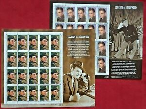 Special: # 3329 JAMES CAGNEY & # 3446 EDWARD G ROBINSON 33¢ Legends of Hollywood