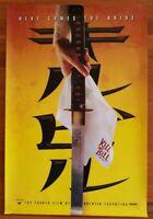 Kill Bill: Vol 1. 2003 Movie 1-sheet. Tarantino. Thurman. Near mint.