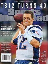 NEW Sports Illustrated Tom Brady Commemorative Tribute Patriots TB12 Turns 40