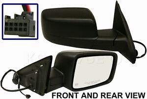 New Passenger Side Power Heated Mirror FOR 2009-2013 Dodge Ram 1500 2500 3500