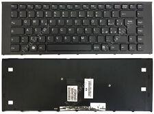 Tastiera Nera per Sony VAIO VPCEA1C5E VPCEA1S1E/B VPCEA1S1E/G VPCEA1S1E/L