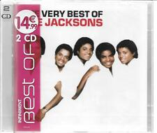 2 CD COMPIL --THE JACKSONS--THE VERY BEST OF--NEUF