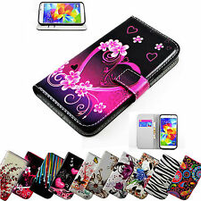 Girl Women Wallet Flip Leather Stand Cases Covers For Samsung Galaxy J7 J5 S6 S5