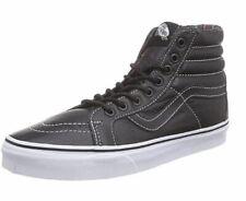 Vans Men Sk8-Hi Reissue Leather (Black/Plaid) UK 8.5 EU 42.5 LN48 16
