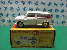Vintage -  Mini Morris Traveller  - Dinky Toys 197  Nuova - Mint in Box