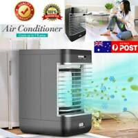 Portable Air Conditioner Mini Fan Cooler Cooling Humidifier System Home AU STOCK