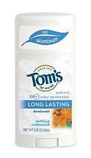 4 Pk Tom's of Maine Natural Long Lasting Deodorant Soothing Calendula 2.25 Oz Ea