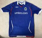Linfield Football Shirt Northen Ireland Umbro Large