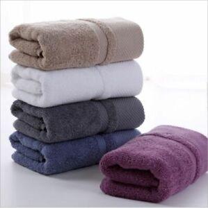 Set 3xQuick Dry Cotton Towels Luxury Soft Towel Hand Bath Thick Towel Bathroom