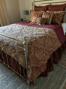 Horchow bedding-duvet cover and shams