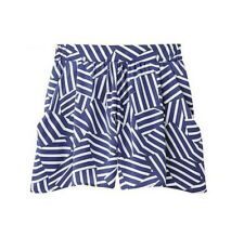 GU (Uniqlo sister brand) Navy Printed Shorts - Brand New Authentic Size S