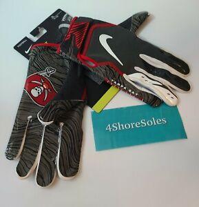 Nike XL Vapor Jet Magnigrip Football Receiver Gloves Tampa Bay Bucs PGF902-223