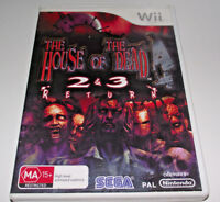 The House of the Dead 2 & 3 Return Nintendo Wii PAL *Complete* Wii U Compatible