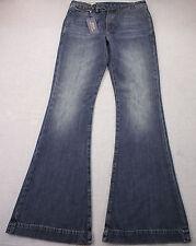 RALPH LAUREN POLO Womens Blue Flare Denim Bootcut Jeans NWT Sz 30  32 x 34  $198