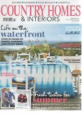 COUNTRY HOMES & INTERIORS MAGAZINE July 2013 Life on the Waterfront AL