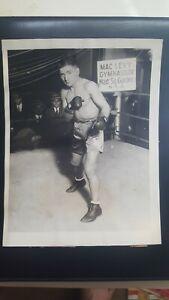 Vintage Original 6x8 Boxing Photo. Kid Kaplan. 1926. International Newsreel.