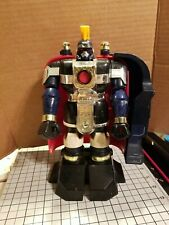 Power Rangers Zeo Deluxe Auric The Conqueror.| Damaged | PARTS or fix