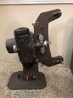 Vintage Bell & Howell Filmo 8mm Master 400 Projector Design 122 Model G