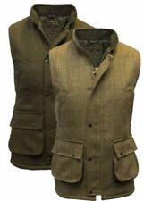 Zip Wool Regular Size Waistcoats for Men