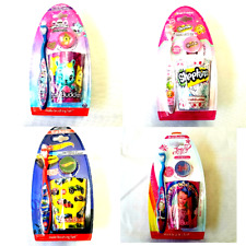 Toothbrush Rinsing Cup JoJo Siwa Shopkins Hatchimals Hot Wheels New