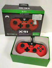 Hyperkin Xbox One X91 Wired Game Controller for Xbox One System and PC Red #2