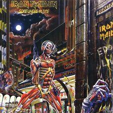 Iron Maiden - Somewhere In Time Vinyl LP Heavy Metal Sticker, Magnet
