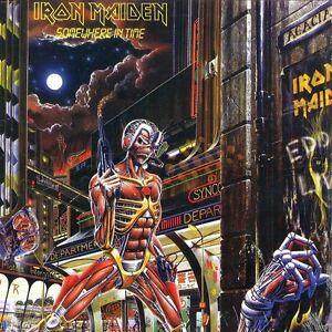 Iron Maiden Somewhere In Time Vinyl LP Cover Refrigerator Magnet Fridge
