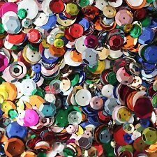 Craft Cup Bulk Sequins, Assorted Colors & Sizes,Perfect for Arts &Crafts,5000pcs
