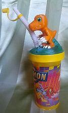 Digital Digimon Monster Agumon 2000 Trinkbecher Sammelbecher Kino Film Game