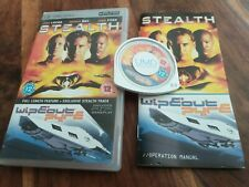 Stealth PSP UMD Film & Wipeout Pure Sony PSP Game + Instructions VGC