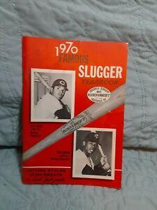 1970 Famous Slugger Yearbook: Pete Rose, Rod Carew, Carl Yastrzmski