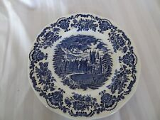 Vintage Enoch Wedgwood~Royal Homes of Britain~28cms Plate/Charger Blue&White