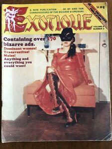Exotique Vol 8 No 2 Fem Dom TV Kink Vintage Comic Magazine Collector