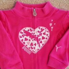 SWEET! BABY PUMA 3-6 MONTH PINK HEART JACKET