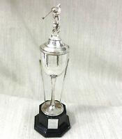 1993 Vintage Golf Trophy Tasse Plaqué Argent Clubs Le Beffroi Golf Club Golfeur