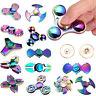 3D Fidget Finger Spinner Hand Focus Ultimate Spin Steel EDC Bearing Stress Toys