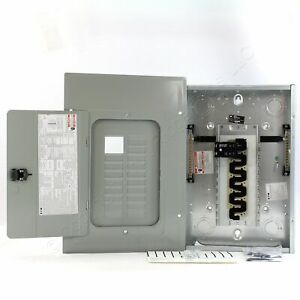 Eaton BR1624B100 Cutler-Hammer BR 16-Space 24-Circuit Main Breaker Panel 100A