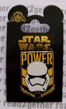 Disney Pin Star Wars The Force Awakens Storm Trooper Power First Order