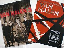 "VAN HALEN 2 U.S. PROMO POSTERS: ""BEST OF BOTH WORLDS & VHIII"", ALEX, EDDIE"
