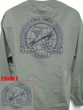 USAF COMBAT CONTROL TEAM LONG SLEEVE T-SHIRT/ MILITARY/   NEW