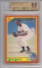 1990 SCORE ROOKIE/TRADED # 86T FRANK THOMAS ROOKIE BGS 9.5 ALL SUB GRADES 9.5
