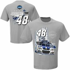 Jimmie Johnson 2014 Checkered Flag #48 Lowe's Restart Tee FREE SHIP